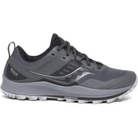 saucony Peregrine 10 GTX Zapatillas Mujer, grey/black